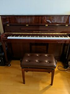 Kawai Upright Piano Model K-155 in excellent, as new condition