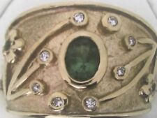 Handmade Not Enhanced Fine Diamond Rings