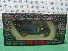 Vintage -  BIANCHI  LANDAULET  1909  Open    -  1/43  Rio  n° 11   Mint in Box
