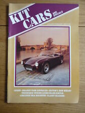 KIT CARS MAGAZINE JAN/FEB 1982 4th ISSUE Book jm