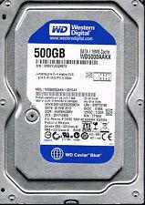 Western Digital Caviar Blue 500 GB Hard Drive WD5000AAKX-221CA1 DCM: HARHV2MH
