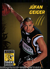 Jüfan Geiger Tigers Tübingen TOP AK Original Sign. Basketball +A 58291