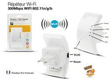 Répéteur WiFi Universel  Amplificateur Réseau sans fil  300Mbps  WiFi n/g/b