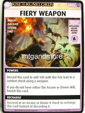 Pathfinder Adventure Card Game - 1x Fiery Weapon - Burnt Offerings