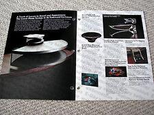 MAKE OFFER - Technics SB-E200 speaker brochure catalogue, RARE