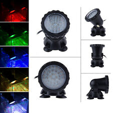 36 LED RGB Submersible Aquarium Underwater Spot Light for Garden Pond Fish Tank