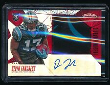 DEVIN FUNCHESS 2015 CERTIFIED MIRROR RED JERSEY RC AUTO 103/299 CAROLINA PANTHER
