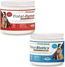 NWC Naturals Total-Digestion Mini-twin Pack Total-Zymes, Total-Biotics Each Jar