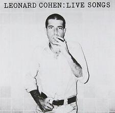 Leonard Cohen - Live Songs 180g vinyl LP NEW/SEALED