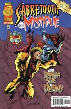 SABRETOOTH and MYSTIQUE # 1 Runaway 1st Issue 1996