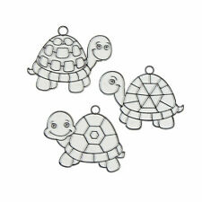 Turtle Shell Suncatchers - Craft Supplies - 24 Pieces