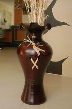 sehr Edle große Vase / Bodenvase echte Handarbeit