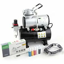 Fengda FD-186K Airbrush Set Kit with Compressor FD-186 Airbrush BD-130 & More