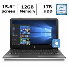 HP Pavillion 15-AU123CL Touch 7th Gen i5 12GB Ram 1TB Hdd Win10 1Year Warranty