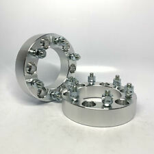 "2pc 2"" 6X5.5 Chevy Wheel 2 Spacers 7/16 Fits Late Model K5 K10 Blazer 4x4 Truck"