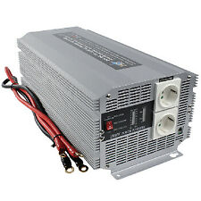 Power Inverter Onda Sinusoidale Modificata 24 VDC - AC 230 V 2500 W F (CEE 7/3)