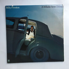 BILLY PRESTON - A WHOLE NEW THING * LP VINYL * FREE P&P UK * A&M RECORDS SP 4656