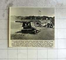 1956 Six Barrels 20 Mm Machine Canon 9000 Rounds Per Minute