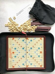 Scrabble Travel Folio Game Replacement Pieces w Snap Letter Tiles You Pick