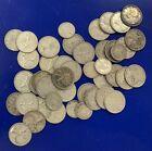 $9.95 Face Canada 80% Silver Coins 25 & 10 Cents Dimes Quarters Lot (Pre1967)