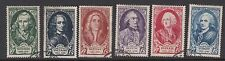 FRANCE : 1949 National Relief Fund set SG 1081-6 mint