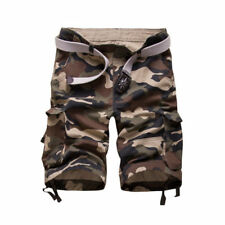New Men's Shorts Casual Army Cargo Combat Camo Camouflage Sports Short Pants USA