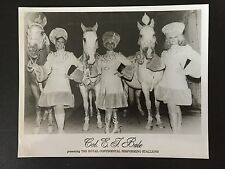 RARE VINTAGE CIRCUS: Col. EJ Bale's Royal Continental Performing Stallions Photo