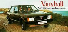VAUXHALL 1980 RANGE MAILER BROCHURE.V2431 02.80 (UK)