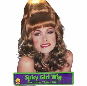 Spicy Girl Wig Halloween Costume Hair Accessory Rubies # 50473 I Dream of Genie