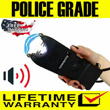 Terminator Max Power Police Grade Stun Gun Sgtsirbl 650 Bv Ear Piercing Siren