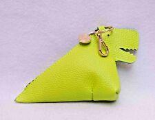 Bath & Body Works Green Dinosaur PocketBac Holder Zipper Pouch
