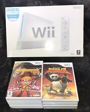 NINTENDO WII BUNDLE - BOXED CONSOLE + GAMES