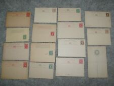 15  St.Vincent Postal Stationery 1880's-1890's Unused Postal cards reply wrapper