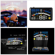 "DC 9-16V 5.5"" HUD Head-Up Car Dashboard Projector Speedometer Speed Warning Kit"