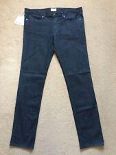 "CERRUTI 1881 Men's 5-Pockets CMM Regular Straight Black Jeans, W38""-L34"", £195."