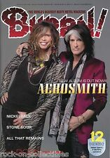 Burrn! Heavy Metal Magazine December 2012 Japan Aerosmith Stone Sour Accept