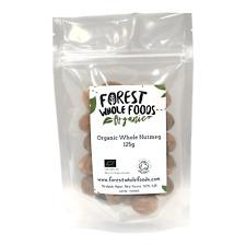 Organic Whole Nutmeg 125g