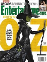 Entertainment Weekly Magazine Oz The Great And Powerful Mila Kunis Tomb Raider