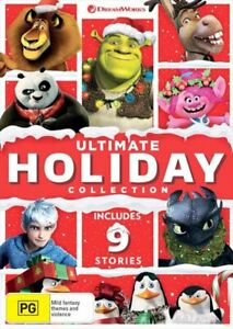 Dreamworks Ultimate Holiday - Limited Edition Collection DVD
