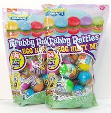 Spongebob Squarepants Gummy Krabby Patty Filled Easter 14 Egg Hunt Mix