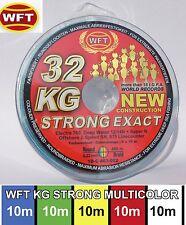 (0,17�'�/1m) WFT KG STRONG EXACT geflochtene Schnur 480m 0,22mm 32kg