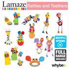 Tomy Lamaze Rattles & Teethers Baby Nursery Full Range! Play & Grow Soft Toys
