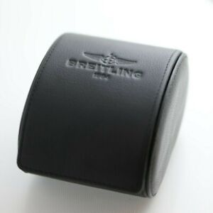 Authentic Breitling Watch Travel Case Genuine Leather