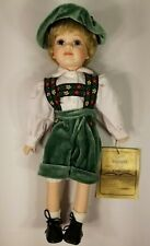 """Seymour Mann Hansel 17"""" Fine Character Doll From Story Book Collectible Series"""