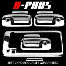 FOR CHEVY Express Van 03-15 3 Door handle with KH+Full mirror 2pc CHROME COVERS