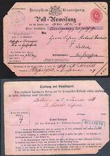 Briefmarken aus Altdeutschland (bis 1945)