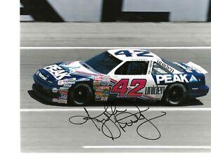 Autographed Kyle Petty NASCAR Auto Racing Photograph