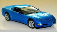 Blue Corvette Chevrolet Built Classic Sport Car Model 24 12 18 1967 25 1963 8 1