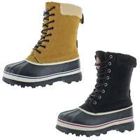 Revelstoke Mens Overland Tan Sherpa Snow Boots Shoes 12 Medium (D) BHFO 4811