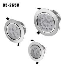 COB LED Recessed Ceiling Down Light Spot Light Bulb Fixture Lamp + Driver 15/18W